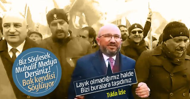 Mahmut Sami Şahin, Başkanlığa layık olmadığını söyledi.