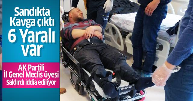 Ayrancı'da Muhtarlık yüzünden kavga çıktı