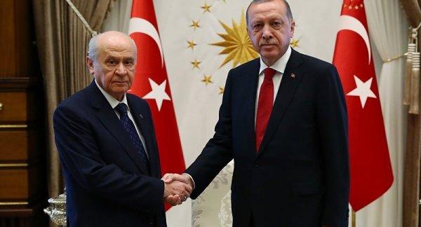 Cumhurbaşkanı Erdoğan ile Bahçeli bugün görüşecek