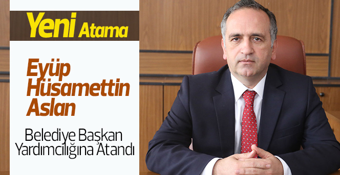 Karaman Belediye Başkan Yardımcılığına Yeni Atama