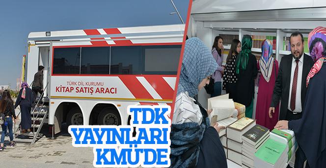 TDK Yayınları KMÜ'de