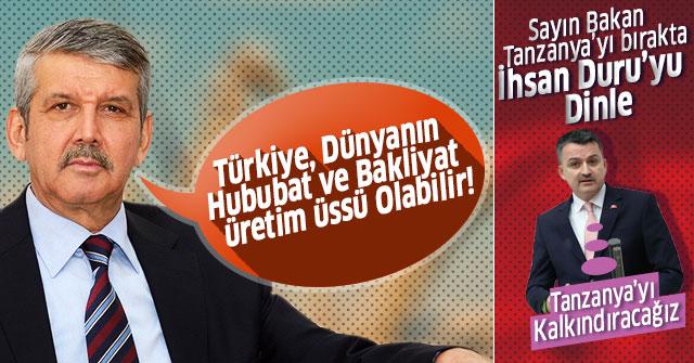 Türkiye, Dünyanın Hububat ve Bakliyat Üretim Üssü Olabilir!