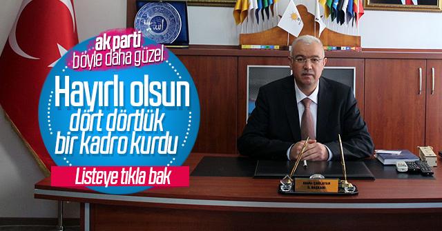 Karaman AK Parti yönetim kurulu belli oldu