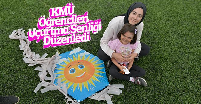 KMÜ  Öğrencileri  Uçurtma Şenliği  Düzenledi