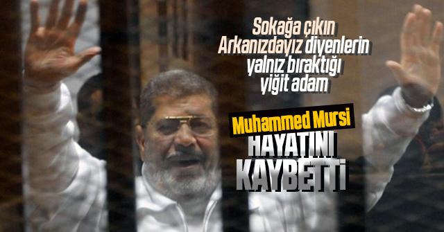 Muhammed Mursi bugün Hayatını Kaybetti.