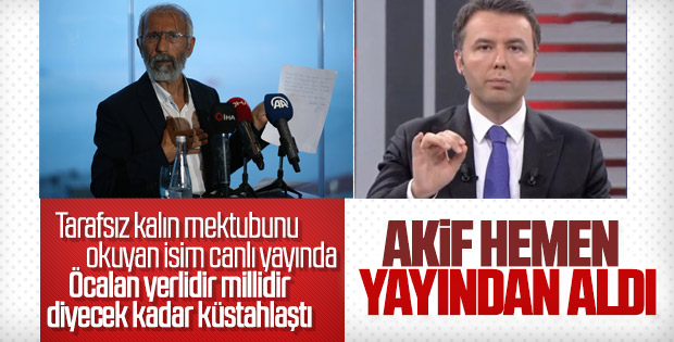 Öcalan'ın mektubunu açıklayan Özcan'dan skandal sözler