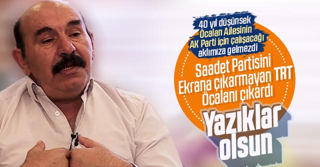 Osman Öcalan TRT'ye çıktı