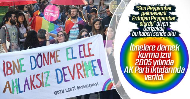 Homo ve lezbiyenlere serbestlik AKP ye nasip oldu