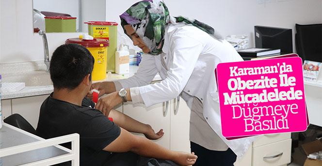 Karaman'da Obezite İle Mücadelede Düğmeye Basıldı