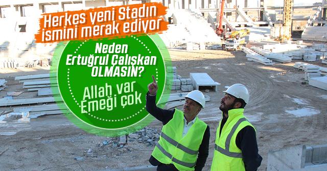 Yeni Stadın ismi ne olacak?