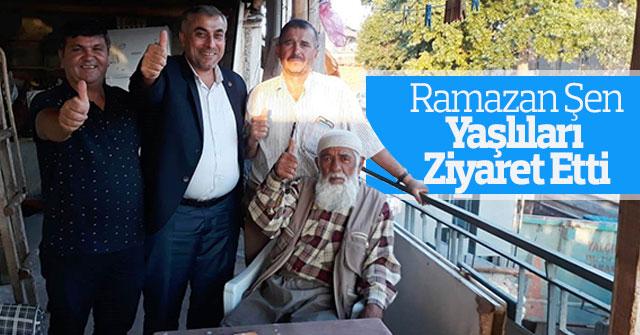Ramazan Şen Yaşlıları  Ziyaret Etti
