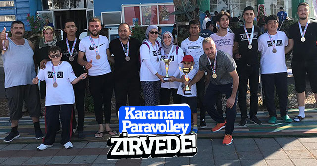 Karaman Paravolley Zirvede!