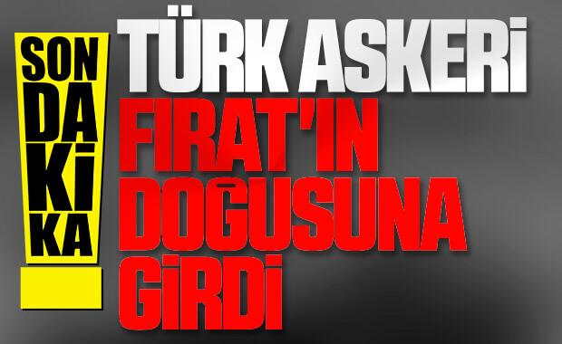 Yabancı ajanslardan 'Türkiye Suriye'ye girdi' iddiası