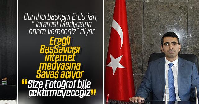 Ereğli Cumhuriyet Başsavcısından skandal açıklama