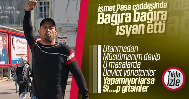 Karaman'da ki Vatandaş isyan etti.