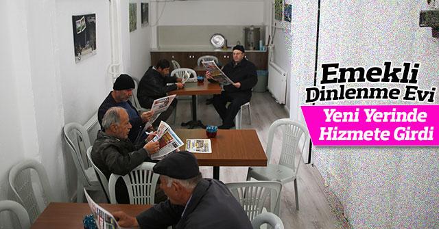 Emekli Dinlenme Evi Yeni Yerinde Hizmete Girdi