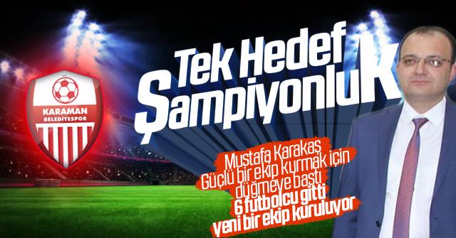 Karaman Belediye Spor Kadroyu yeniliyor.
