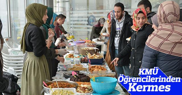 KMÜ Öğrencilerinden Kermes