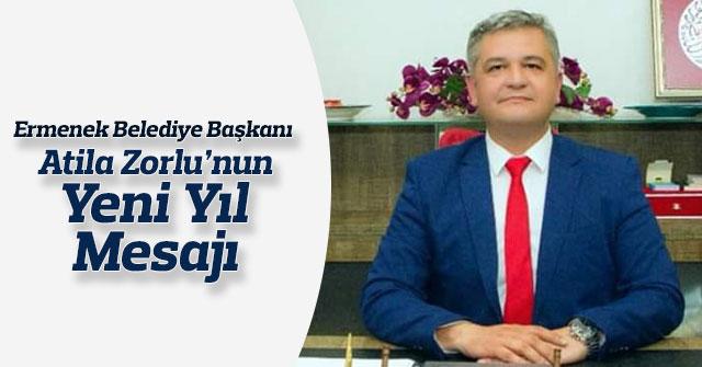 Ermenek Belediye Başkanı Atila Zorlu'nun Yeni Yıl Mesajı