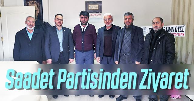 Saadet Partisinden haber sitemize ziyaret