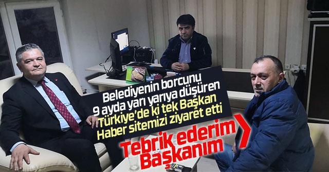 Atilla Zorlu ve Mustafa Köpüklü'den ziyaret