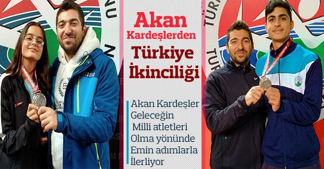 Akan Kardeşlerden Türkiye İkinciliği