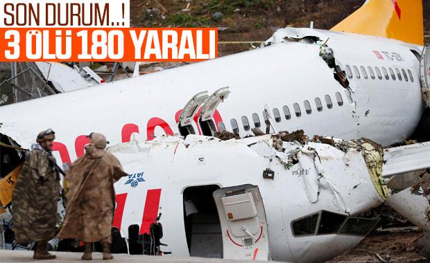 Pistten çıkan uçağın kara kutuları bulundu