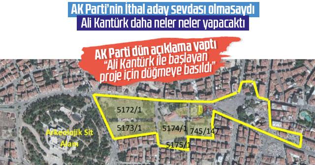 Ali Kantürk'ün başlattığı proje için düğmeye basıldı