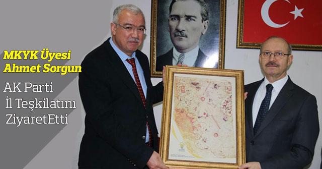 MKYK Üyesi Ahmet Sorgun Karamanda