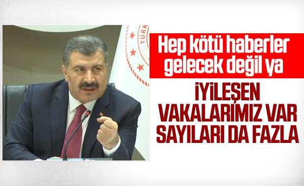 Türkiye'de koronavirüs vakalarında son durum