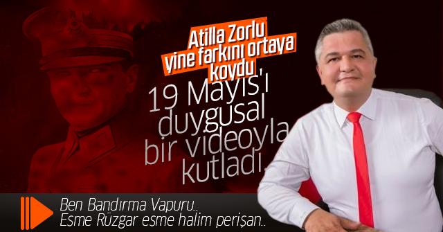 Atilla Zorlu 19 Mayıs'ı duygusal bir video ile kutladı