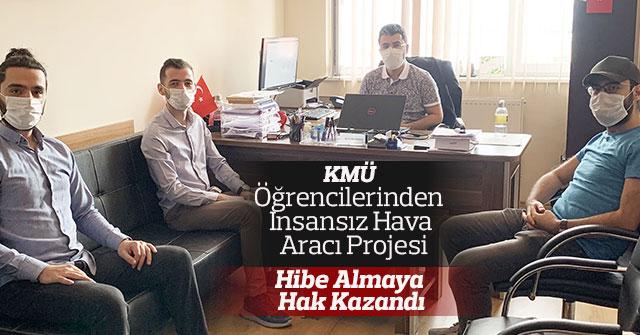 KMÜ Öğrencilerinden İnsansız Hava Aracı Projesi