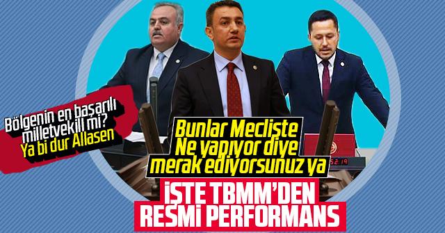Karaman Milletvekillerinin Performansı