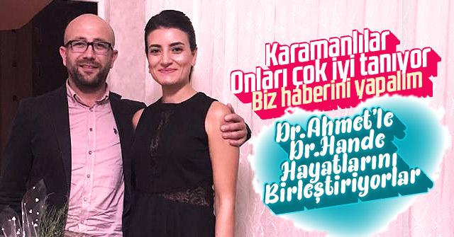 Dr. Ahmet ile Dr. Hande Dünya evine giriyor