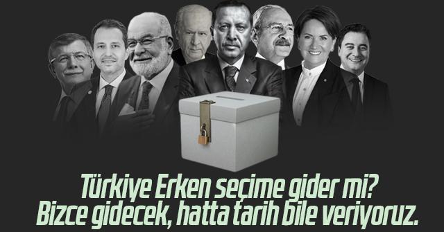 Erken Seçim Olacak İşte Tarihi..!!