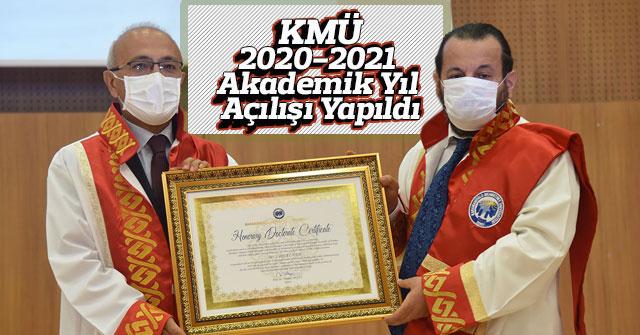 KMÜ, 2020-2021 akademik yıl açılışı yapıldı