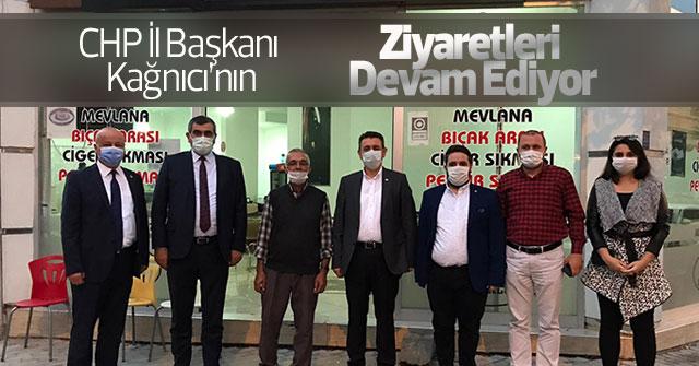CHP İl Başkanı Kağnıcı'nın Kobi ziyaretleri devam ediyor
