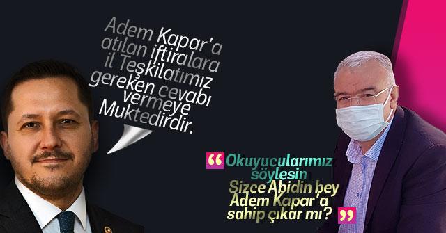 Selman Oğuzhan Eser İl teşkilatını göreve davet etti.