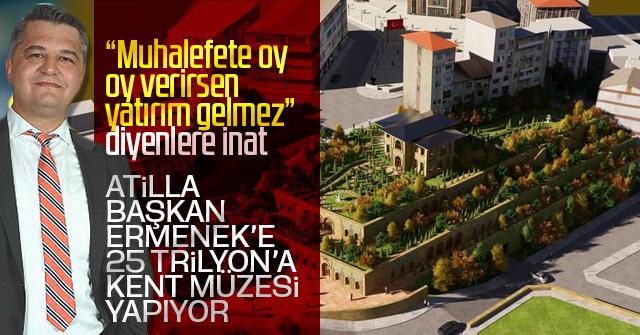 Bölgenin en büyük kent müzesi Ermeneke yapılıyor