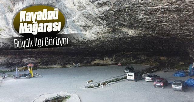 Kayaönü Mağarası Büyük  İlgi Görüyor