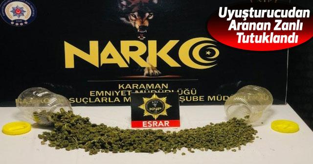 Uyuşturucudan Aranan Zanlı Tutuklandı