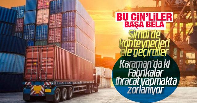 Çin yüzünden Karaman Organizesi ihracat yapamıyor