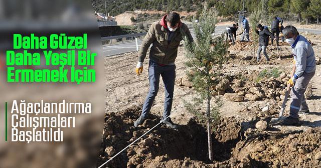 Daha Yeşil Bir Ermenek İçin Ağaçlandırma Çalışmaları Başlatıldı