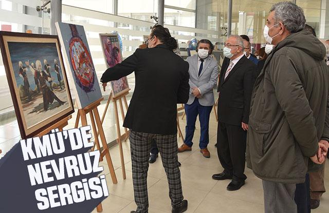 KMÜ'de Nevruz Sergisi