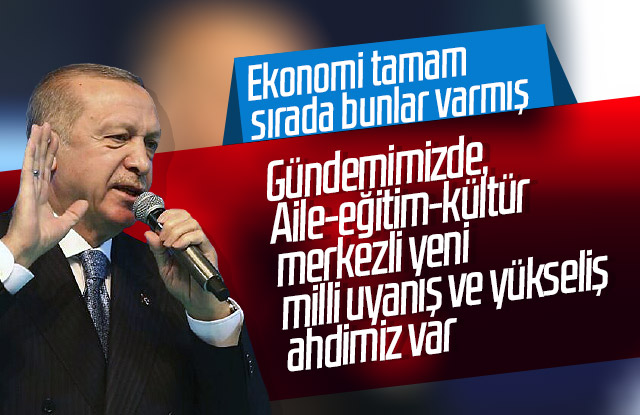 AK Partinin yeni hedefi Aile, Eğitim ve kültür olacak