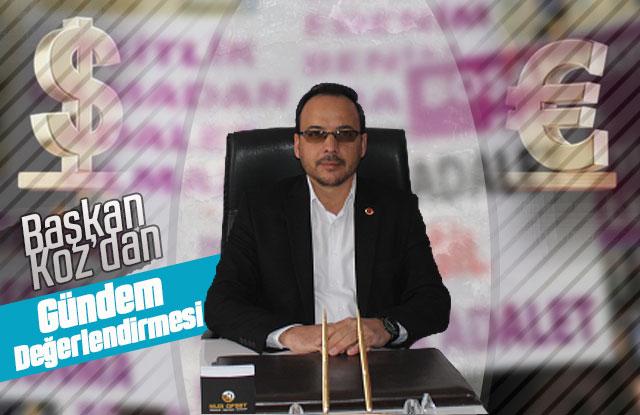 Başkan Yasim Koz'dan gündem değerlendirmesi