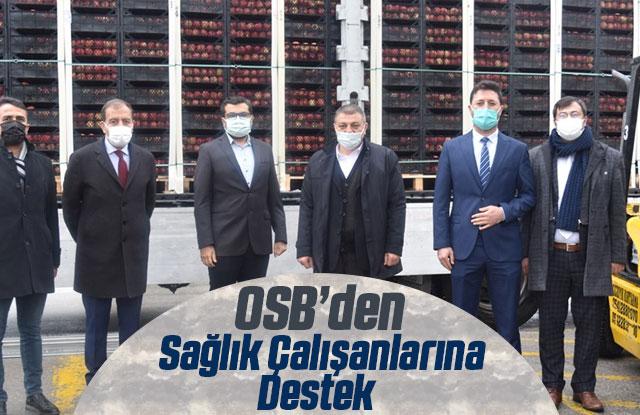 Karaman OSB'den Sağlık Çalışanlarına Tatlı Moral