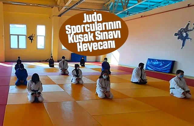 Judo Sporcularının Kuşak Sınavı Heyecanı