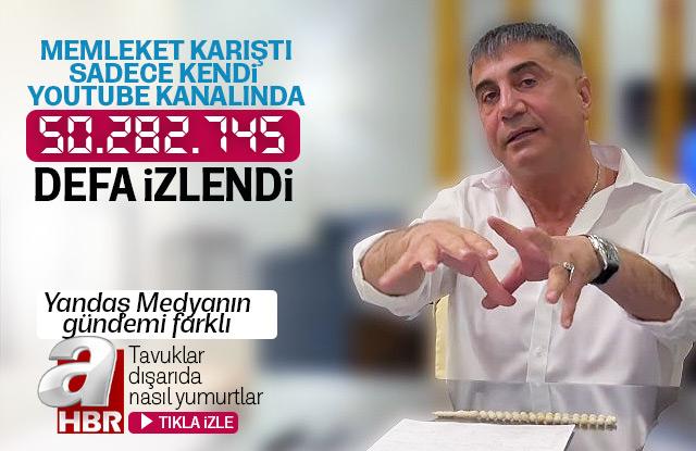 Sedat Peker şok iddialarla devam ediyor.