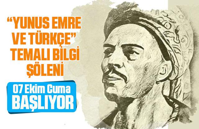 KMÜ'den Uluslararası Yunus Emre Ve Türkçe Bilgi Şöleni